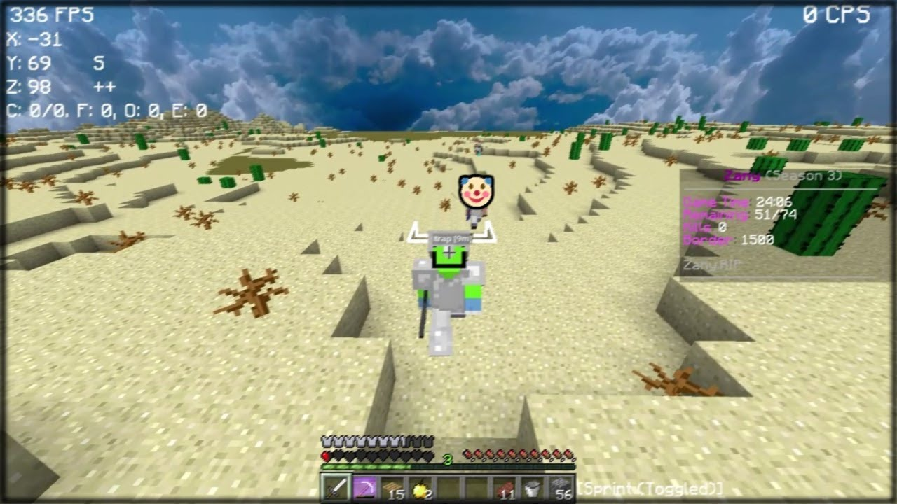 this sand trap is truly overpowered - UHC