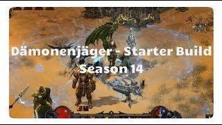 Diablo 3: Dämonenjäger Starter Build (Season 14, Marodeur Set)