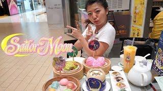 Sailor Moon Dim Sum in Hong Kong