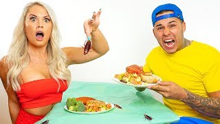 Eating at the WORST REVIEWED RESTAURANT in my CITY on VALENTINES DAY!!