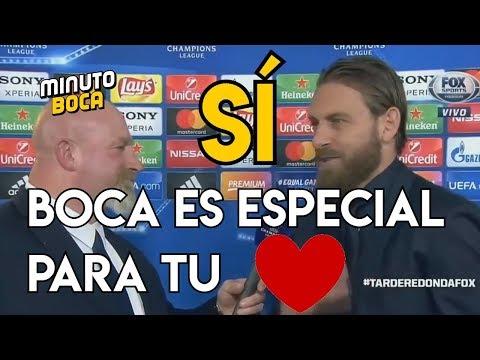 VIDEO - De Rossi e la premonizione sul Boca: