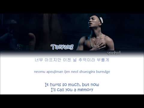 TAEYANG (태양) – Eyes, Nose, Lips (눈, 코, 입) (Color Coded Han|Rom|Eng Lyrics)