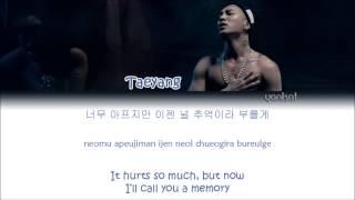 TAEYANG (태양) – Eyes, Nose, Lips (눈, 코, 입) (Color Coded Han|Rom|Eng Lyrics)