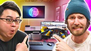 I broke my camera man's bed! - Intel $5,000 Extreme Tech Upgrade