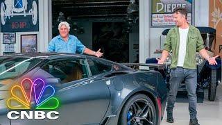 Josh Duhamel And Jay Leno Drive A 1963 Corvette Sting Ray | CNBC Prime
