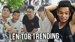 (Talkshow) Reaction MV đầu tay lên Top Trending STREAM ĐẾN BAO GIỜ.