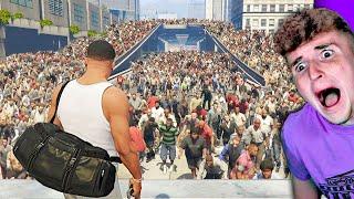 BIGGEST Zombie Hoard Found Me In GTA 5.. (TERRIFYING)