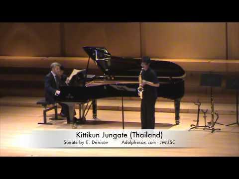 3rd JMLISC Kittikun Jungate Thailand Sonate by E  Denisov