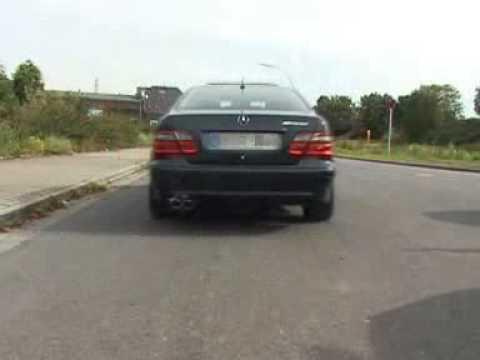 Eisenmann Exhaust - Mercedes CLK (W208) - www.eisenmann.us