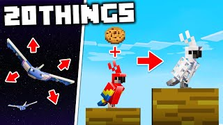 20 Things You Didnt Know About Mobs in Minecraft
