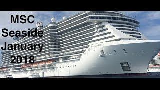 MSC Seaside Vlog 2 Finding our Room   Exploring deck 18!