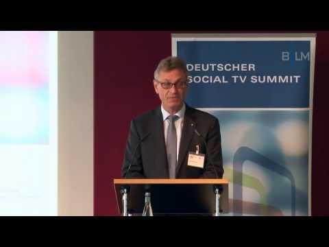 Rede: Begrüßung 2. Social TV Summit durch Siegfried Schneider
