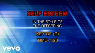 The Offspring - Self Esteem (Karaoke)