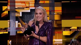 Carrie Underwood Wins Favorite Album - Country at the 2019 AMAs - The American Music Awards