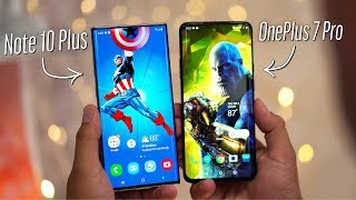 Note 10 Plus vs OnePlus 7 Pro - Real Differences after 2 Weeks!