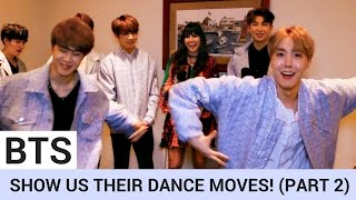 BTS Share Secret Pre-Show Ritual & Break Out Silly Dance Moves! (PART 2)   Hollywire