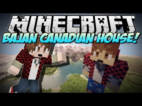 Minecraft   BAJAN CANADIAN HOUSE!   Build Showcase - Smashpipe Games