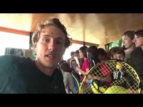Lucas Pouille Racquet Giveaway