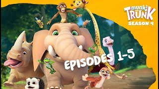 M&T Full Episodes S4 01-05 [Munki and Trunk]