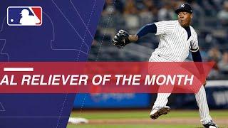 Reliever of the Month: Aroldis Chapman