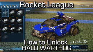 Rocket League - How to Unlock the Warthog / Hog Sticker (Xbox One)