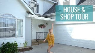 HOUSE TOUR | welcome to our new house & shop!