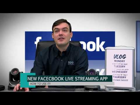 Facebook Live Streaming Application