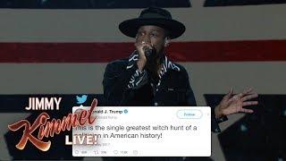 Leon Bridges Sings Donald Trump's Tweets