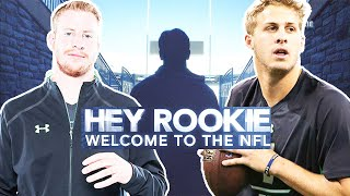 Carson Wentz, Jared Goff & Rookies Journey from Combine Prep to the NFL Draft (2016 Hey Rookie)