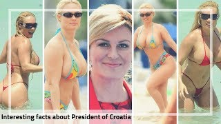 Kolinda Grabar-Kitarovic | The Sexy President of Croatia | World Cup 2018 finalists.