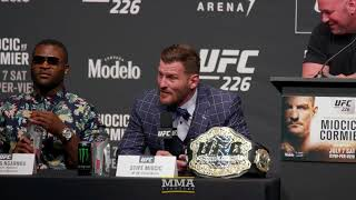 UFC 226: Miocic vs. Cormier Press Conference - MMA Fighting