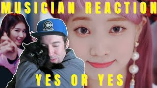 MUSICIAN REACTS | TWICE - YES OR YES REACTION & REVIEW