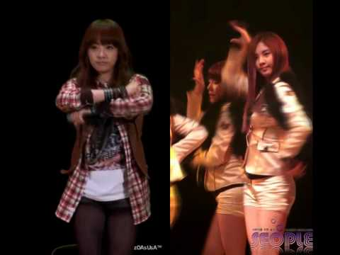 Chocolate Love - f(x) Victoria VS SNSD Seohyun (fancam)