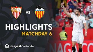 Resumen de Sevilla FC vs Valencia (3-1)
