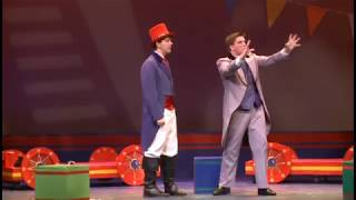 "SAM RODD as Bailey in the show ""Barnum"" (Pelham Memorial HS)"