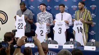 Pelicans introduce new team members