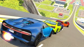 High Speed Jumps/Crashes Compilation #56 - BeamNG Drive Satisfying Car Crashes