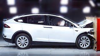 Tesla Model X crash test – Safest SUV 2020