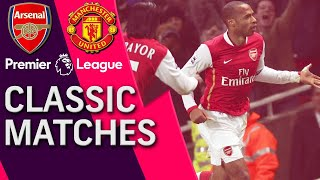 Arsenal v. Manchester United | PREMIER LEAGUE CLASSIC MATCH | 1/21/07 | NBC Sports