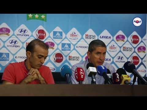 مدرب الرجاء غاريدو يُثني على فريق الفتح ومدربه الركراكي