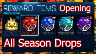 Opening All My Season Reward Drops! Rocket League