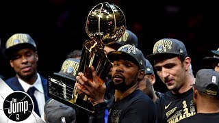 Warriors became alarmed when Kevin Durant didn't feel joy winning rings - Brian Windhorst | The Jump