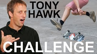 TONY HAWK CHALLENGES ME: LEARN TO HEELFLIP FOR CHARITY