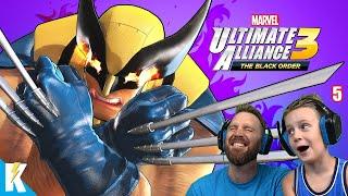 SUPER WOLVERINE! Marvel Ultimate Alliance 3 Part 5   KIDCITY GAMING