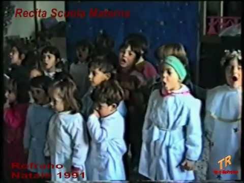 Rofrano - Recita scuola materna - Natale 1991