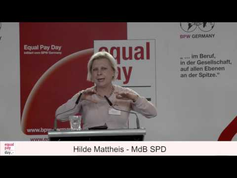 Hilde Mattheis | Equal Pay Day Forum am 03.11.2015 im BMFSFJ, Berlin