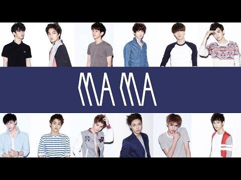 EXO - MAMA (EASY Lyrics)