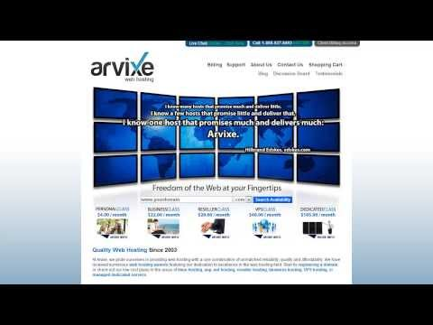 This article will tell you everything you need to know about the Arvixe Web Hosting University Program. Are you a student? visit Arvixe.com/University to get started creating your free website today!