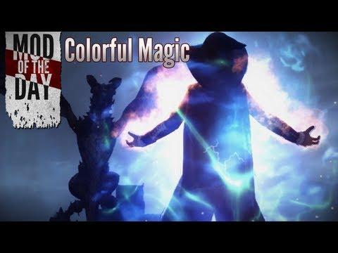 скайрим мод magic
