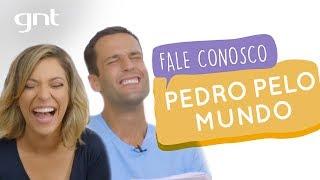 Pedro Andrade pelo mundo
